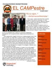 CAMPestre newsletter volume 8 issue 2